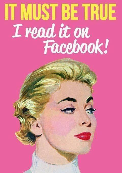 It must be True ..I read it on Facebook